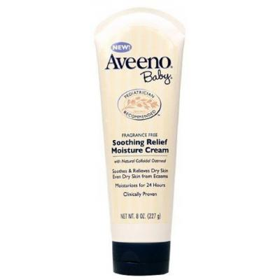 Aveeno Ba Soothing Relief Moisture Cream Fragrance Free  (227 g)