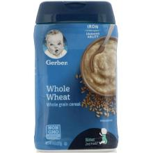 Gerber Whole Wheat Cereal - 227g (8oz) Cereal  (227 g)