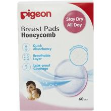Pigeon Breast Pads Honeycomb 60 Pcs, Box  (60 Pieces)